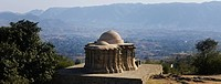 High angle view of a temple, Jain Temple no.1, Kumbhalgarh Fort, Rajsamand District, Rajasthan, India