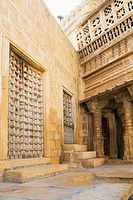 Doors in a fort, Jaisalmer, Rajasthan, India