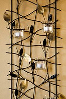 Wraught Iron Tealight Candle Rack