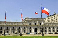 Palacio de La Moneda seat of the President of the Republic of Chile, Santiago de Chile, Chile