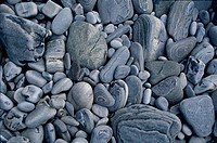 Grey pebbles, Close_up