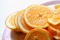 orange slices fruit