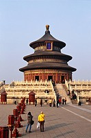 Qinan Hall, Temple of Heaven, Beijing, China