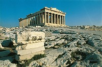 Greece - Attica - Athens. Acropolis. Parthenon
