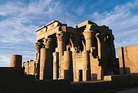 Egypt - Kawn Umbu (Kom Ombo). Ancient Ombos. Temple of Sebek and Haroeris