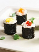 Vegetable Maki Sushi