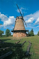 Latvia - Eleja - Windmill