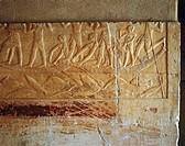 Egypt - Cairo - Ancient Memphis (UNESCO World Heritage List, 1979). Saqqara. Necropolis. Private funerary mastaba of Kagemni. Old Kingdom, 6th Dynasty...