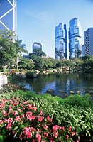 China, Hong Kong, Central District, Lippo Centre, park Asia, East_Asia, city, city, district, Island, houses, buildings, high_rises, skyscrapers, busi...