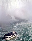 Canada, Ontario, Niagara_falls, American case, trip_boat, maiden of the mist river waterfall tour_boat boat, ship, people, tourists, experience, attra...