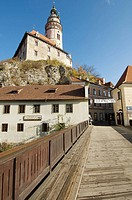Castillo de Cesky Krumlov; Bohemia del Sur; Republica Checa
