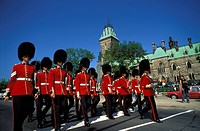 Change of the Guard, Parliament Hill, Ottawa, Ontario, Canada