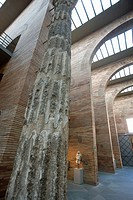 Museo Nacional de Arte Romano de Mérida by Rafael Moneo. (National Museum of Roman Art), Mérida. Badajoz province, Extremadura, Spain
