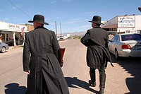 Actor Dressed as Wyatt Earp, Tombstone, Arizona, United States
