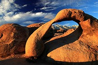 Mobius Arch, Lone Pine Peak, Mount Whitney, Lower,