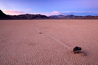 Racetrack Playa, Death Valley, National Park, Cali