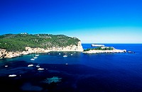 Ibiza, Balearic Islands, Spain, Mediterranean coas