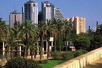 Spain. Valencia. Turia riverbed gardens