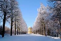 D, Germany, Europe, Brandenburg, Potsdam, Sanssouci, Sans Souci, Belvedere, Klausberg