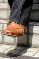 Foot of the businessman (thumbnail)