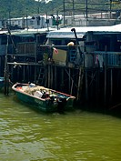 Tai O Stilt Village, Lantau Island, Hong Kong, China (thumbnail)