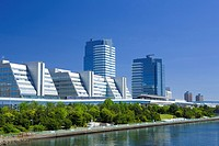 Rinkai newly developed city center (thumbnail)