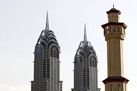 Sky scrapers in Dubai United Arab Emirates