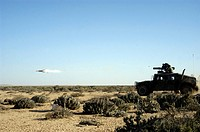Tube launched, optically tracked, wire guided missile system TOW