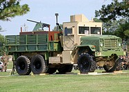 Air Force Gun Truck dedicated at the Air Force Enlisted Heritage Hall
