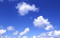 background, Bernhard, blue, cloud, clouds, cow