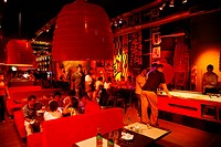 Tazz restaurant and bar in the trendy area of Palermo Viejo known as Soho  Buenos Aires, Argentina