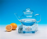 lemon, teapot, house item, kettle