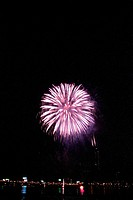 City, fireworks, landscape, scenery, event, city scenery, night (thumbnail)