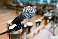 Close_up of Microphone