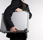 Businessman Carrying Briefcase (thumbnail)