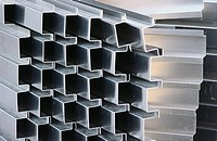 Stack of steel channel section