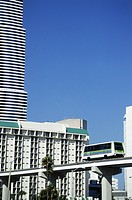Mini rail transport network in Miami, Florida, USA (thumbnail)