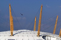 Exterior Detail of the Millennium Dome