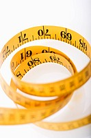 Measuring tape in a pile (thumbnail)