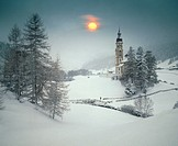 Snowy landscape (thumbnail)