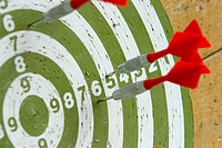 dartboard, board, circular, numbered, plaything, game