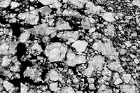 gray, rocks, stones, pebbles, surface, texture