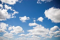 Blue Sky, Clouds, Milieu, Nature