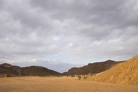 Arid Landscape, Cloudscape, Cloud, Brown, Arid Climate