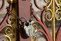 Chain, Closed, Close_Up, Iron