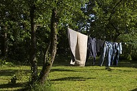 Clothesline, Clothing, Day, Dry, Drying