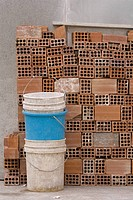 Block, Bucket, Close-Up, Concrete, Concrete Block (thumbnail)
