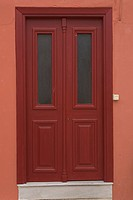 Brown, Close_Up, Day, Door, Doorbell