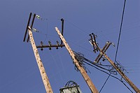 Clear Sky, Day, Electricity Pylon
