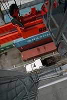 cargo, equipment, boxes, loading, unloading, arrangement